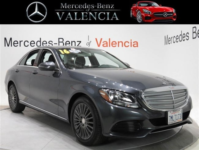 Pre owned  2016 Mercedes-Benz C-Class C 300 Luxury Sedan In Valencia, CA