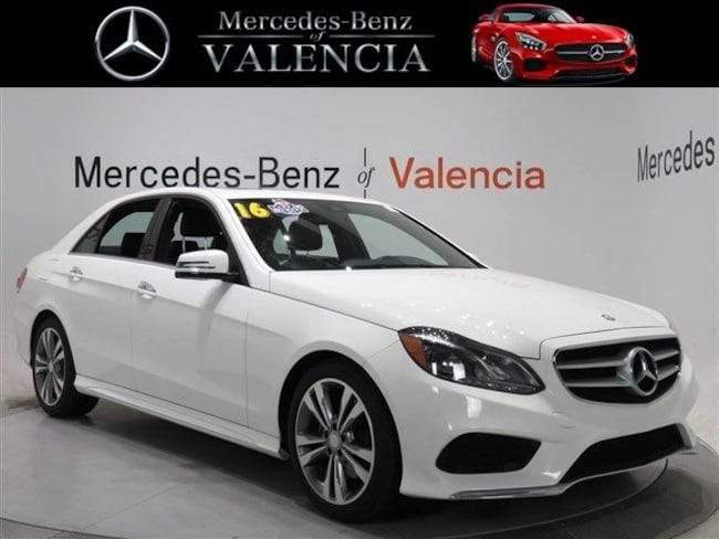 Pre owned  2016 Mercedes-Benz E-Class E 350 Sport Sedan In Valencia, CA