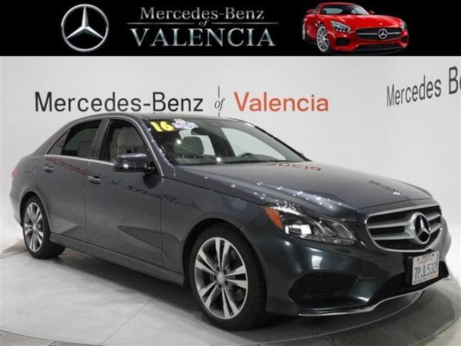 Pre owned  2016 Mercedes-Benz E-Class 4DR SDN E350 RWD Sedan In Valencia, CA