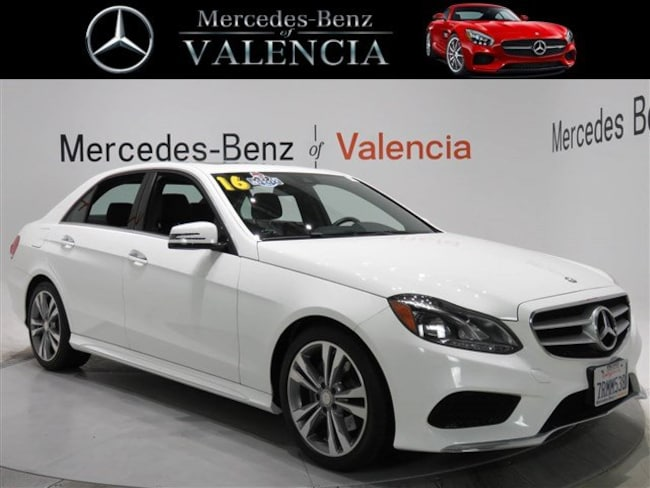 Pre owned  2016 Mercedes-Benz E-Class E 350 Sport Sedan In Valencia, CA
