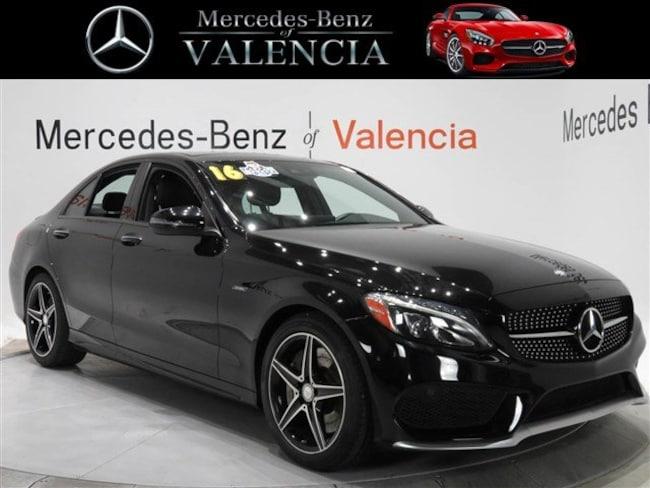 Pre owned  2016 Mercedes-Benz C-Class C 450 AMG Sedan In Valencia, CA