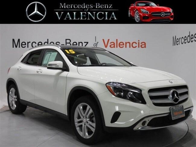 used 2015 Mercedes-Benz GLA GLA 250 SUV for sale in Santa Clarita