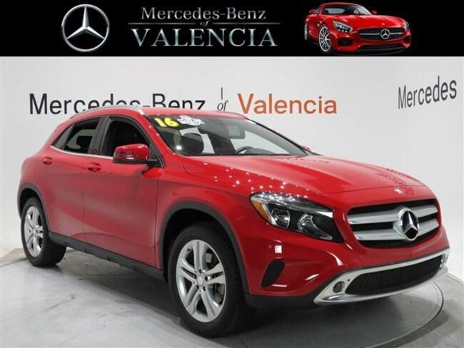 Pre owned  2016 Mercedes-Benz GLA 250 GLA 250 SUV In Valencia, CA