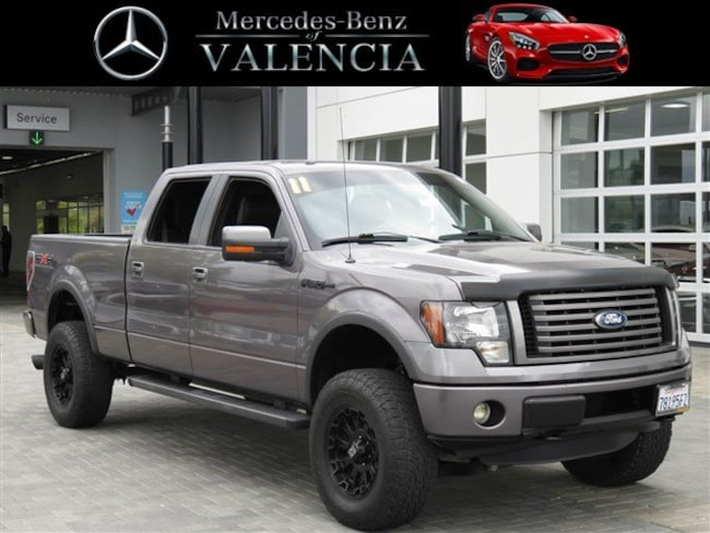 used 2011 Ford F-150 FX4 Truck SuperCrew Cab for sale in Santa Clarita