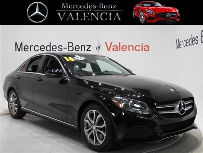 Pre owned  2016 Mercedes-Benz C-Class 4DR SDN C300 C 30 Sedan In Valencia, CA