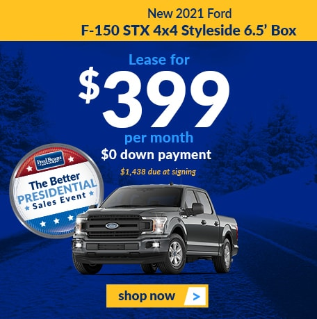 2021 Ford F-150 STX 4x4 Styleside 6.5' Box