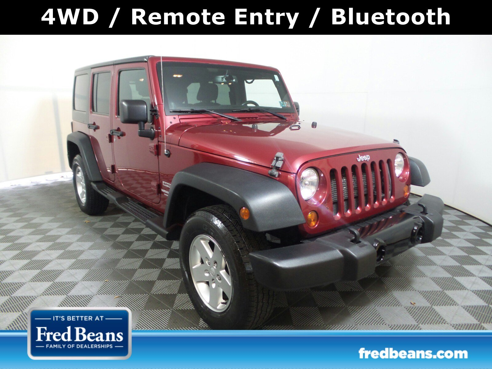 2013 Jeep Wrangler Unlimited Sport 4WD  Sport