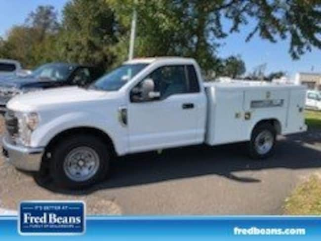 2019 Ford F-250 8 ft  Open Service Utility Body Truck Regular Cab