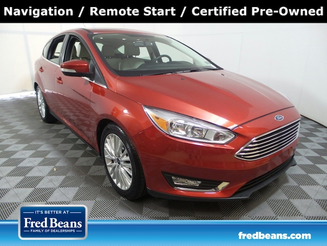 Certified Pre-Owned 2018 Ford Focus Titanium Titanium Hatch For Sale in Langhorne, PA