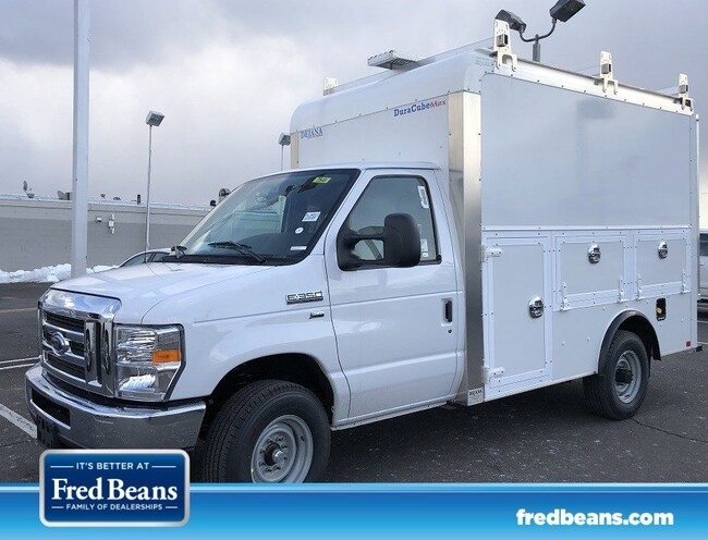 2019 Ford E-350 Cutaway Enclosed Service Utility Body Truck 4x2