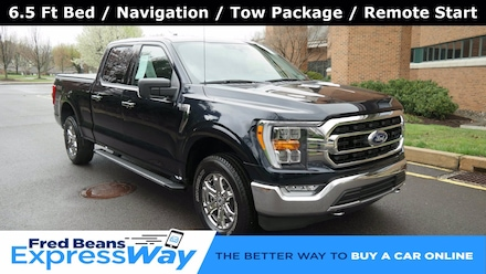 2021 Ford F-150 XLT Supercrew Long Bed 5.0L V8 XLT 4WD SuperCrew 6.5 Box