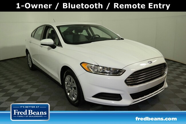Pre-Owned 2013 Ford Fusion S Sedan For Sale in Langhorne, PA