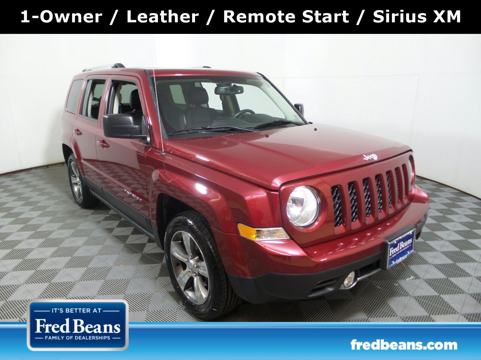 2016 Jeep Patriot Latitude FWD FWD  High Altitude Edition
