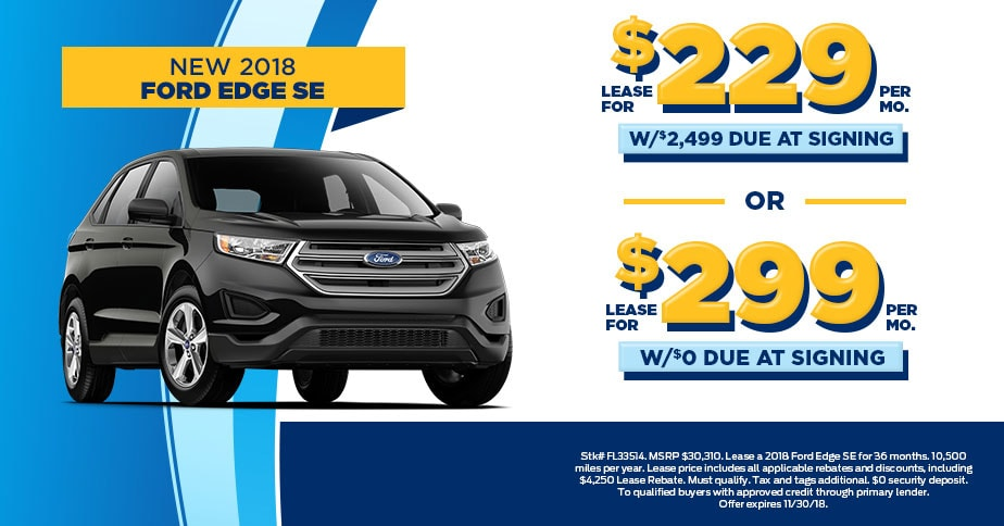 2018 Ford Edge 229 Mo At Fred Beans Of Langhorne