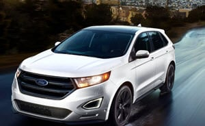 This Comparison Of The  Ford Edge