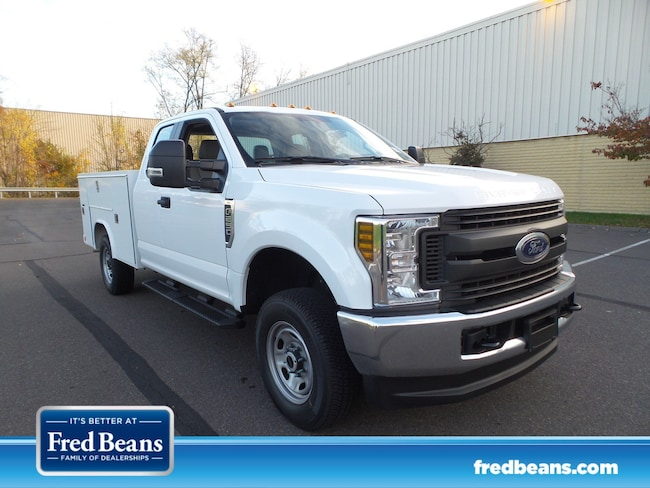 2019 Ford F-250 8 ft  Open Service Utility Body Truck Super Cab