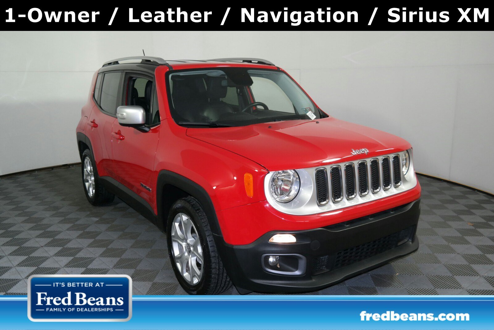 2016 Jeep Renegade Limited FWD FWD  Limited