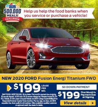 FUSION FRENZY - 2020 Fusion Energi Titanium FWD