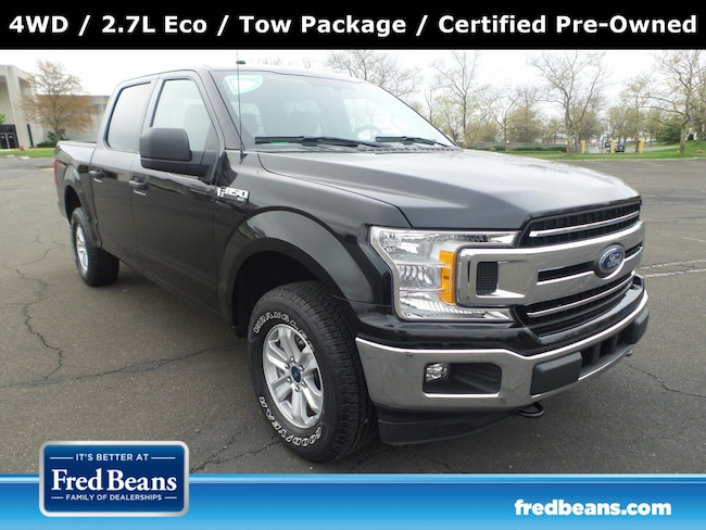 Certified Pre-Owned 2018 Ford F-150 XLT 4WD SuperCrew 5.5 Box For Sale in Langhorne, PA