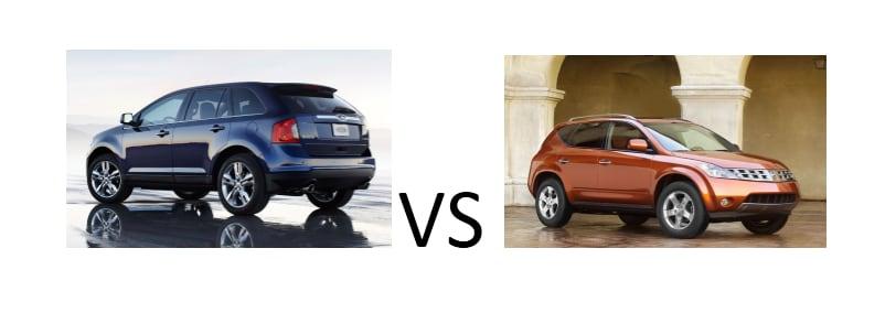 Ford Edge Vs Nissan Murano