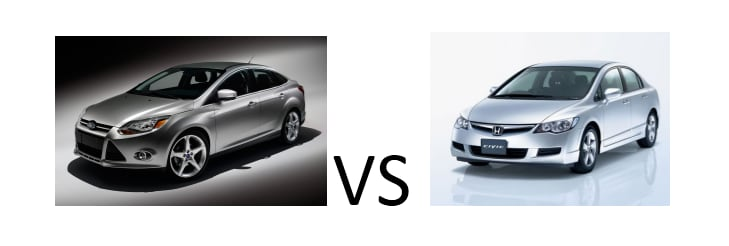 Ford Focus Vs Honda Civic Vehicle Comparison Fred Beans Ford Of