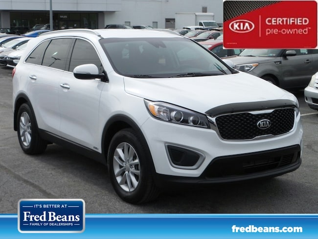 certfied Pre-owned 2018 Kia Sorento 2.4L LX SUV For Sale in Mechanicsburg, PA