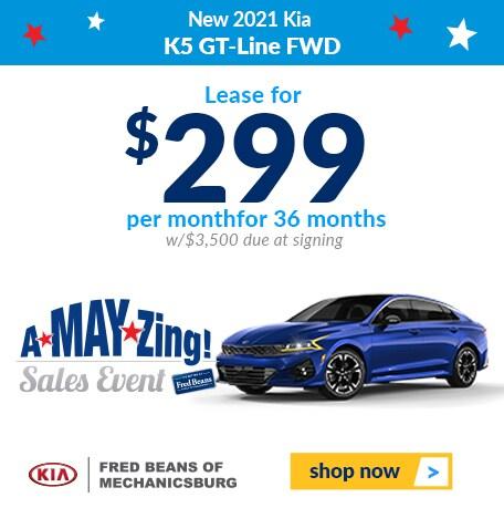 New 2021 Kia K5 GT-Line FWD