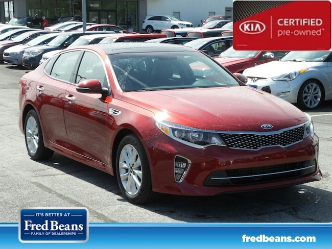certfied Pre-owned 2018 Kia Optima S Sedan For Sale in Mechanicsburg, PA