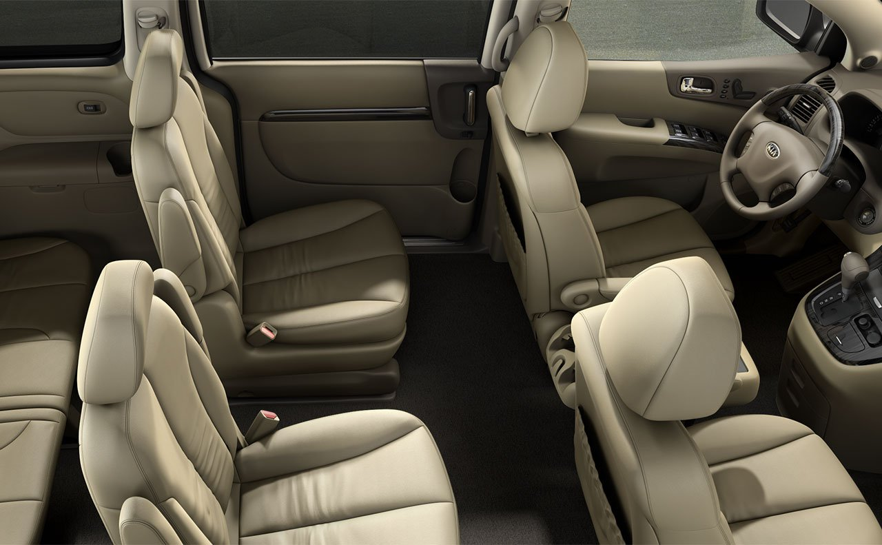 Kia Sedona Vs Chrysler Town Country Vehicle Comparison Fred Seats Interior
