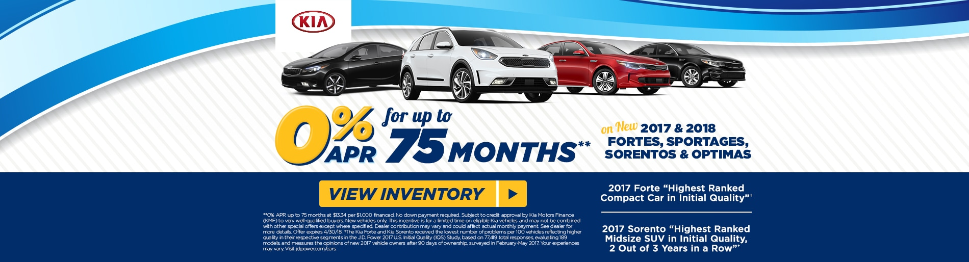 Fred Beans Kia >> 0 Apr On Select 2017 2018 Models At Fred Beans Kia
