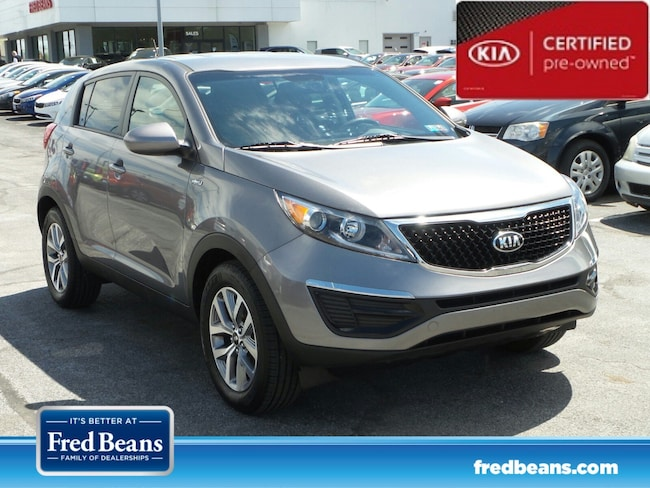 certfied Pre-owned 2015 Kia Sportage LX AWD SUV For Sale in Mechanicsburg, PA