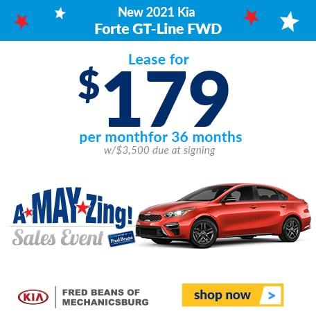 New 2021 Kia  Forte GT-Line FWD