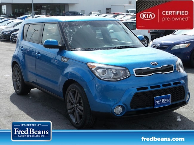 certfied Pre-owned 2015 Kia Soul + FWD Hatchback For Sale in Mechanicsburg, PA
