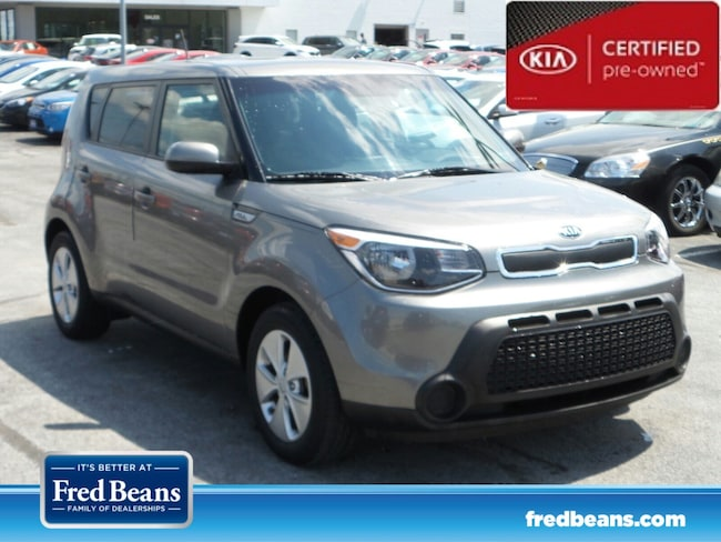 certfied Pre-owned 2016 Kia Soul Base FWD Hatchback For Sale in Mechanicsburg, PA