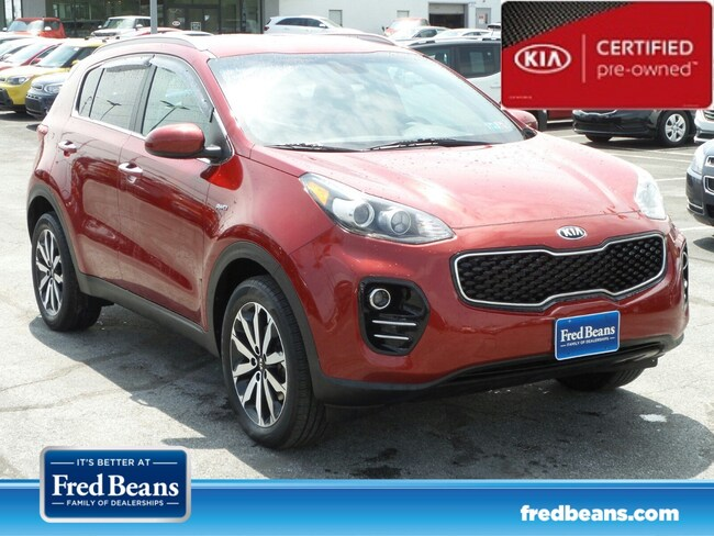 certfied Pre-owned 2017 Kia Sportage EX SUV For Sale in Mechanicsburg, PA