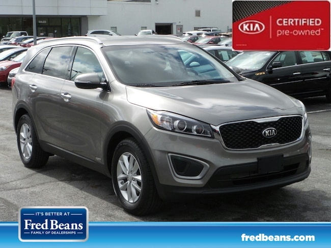 certfied Pre-owned 2016 Kia Sorento 2.4L LX AWD SUV For Sale in Mechanicsburg, PA