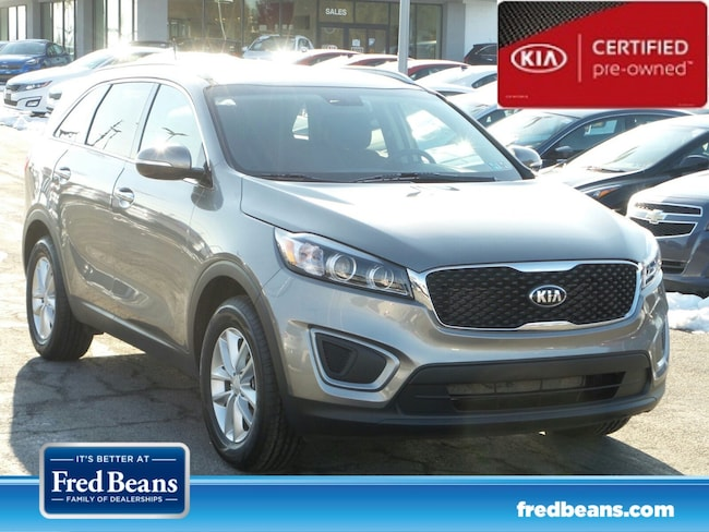 certfied Pre-owned 2016 Kia Sorento 2.4L LX FWD SUV For Sale in Mechanicsburg, PA