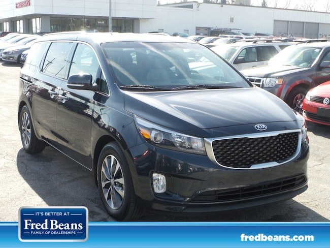 certfied Pre-owned 2016 Kia Sedona SX FWD Van For Sale in Mechanicsburg, PA