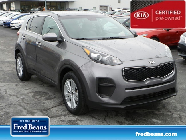 certfied Pre-owned 2017 Kia Sportage LX SUV For Sale in Mechanicsburg, PA