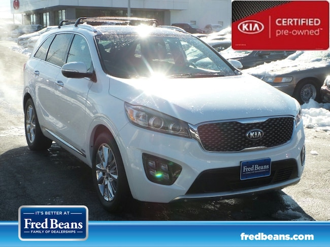 certfied Pre-owned 2016 Kia Sorento 3.3L SXL AWD SUV For Sale in Mechanicsburg, PA