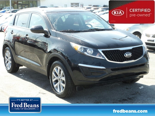 certfied Pre-owned 2016 Kia Sportage LX FWD SUV For Sale in Mechanicsburg, PA