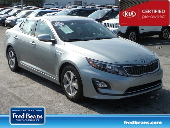 certfied Pre-owned 2016 Kia Optima Hybrid Base A6 Sedan For Sale in Mechanicsburg, PA