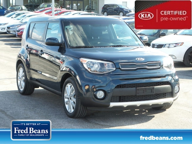 certfied Pre-owned 2017 Kia Soul + Hatchback For Sale in Mechanicsburg, PA