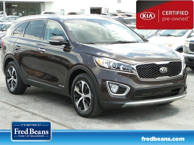 certfied Pre-owned 2016 Kia Sorento 3.3L EX AWD SUV For Sale in Mechanicsburg, PA