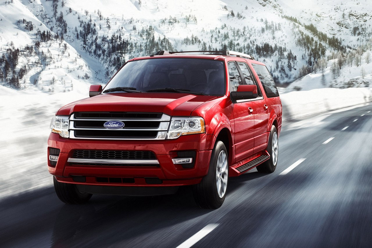 In This  Ford Expedition