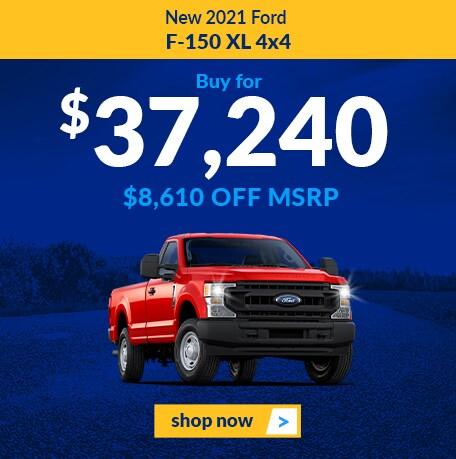 New 2021 Ford F-150 Lariat XL 4x4