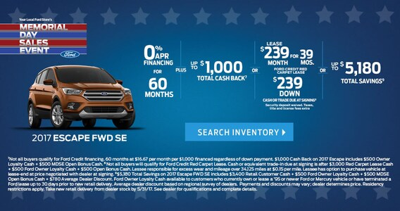 Honda Memorial Day Sale 2017 >> Memorial Day Sales Event Fred Beans Ford Of Langhorne