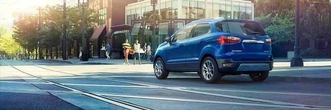 2018 Ford EcoSport in Lightning Blue