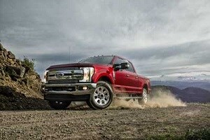 2019 Ford F-250 in Ruby Red