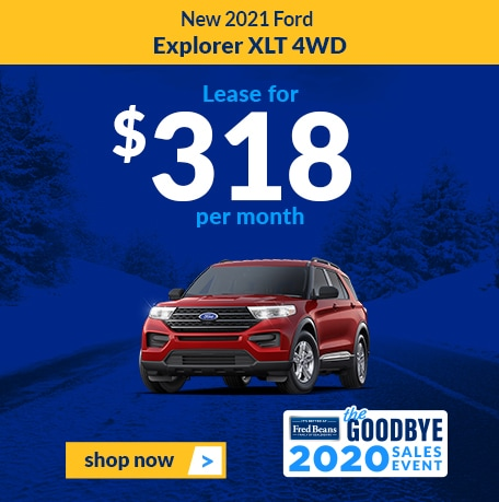 New 2021 Ford Explorer XLT 4WD